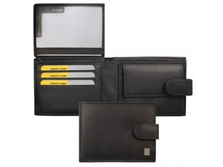 billfold with safety closure
