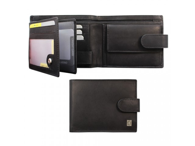 billfold with zip pocket   closure