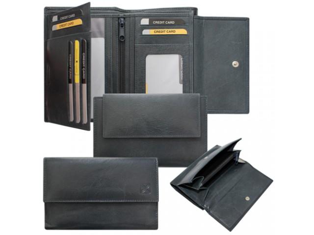 ladies wallet with flap