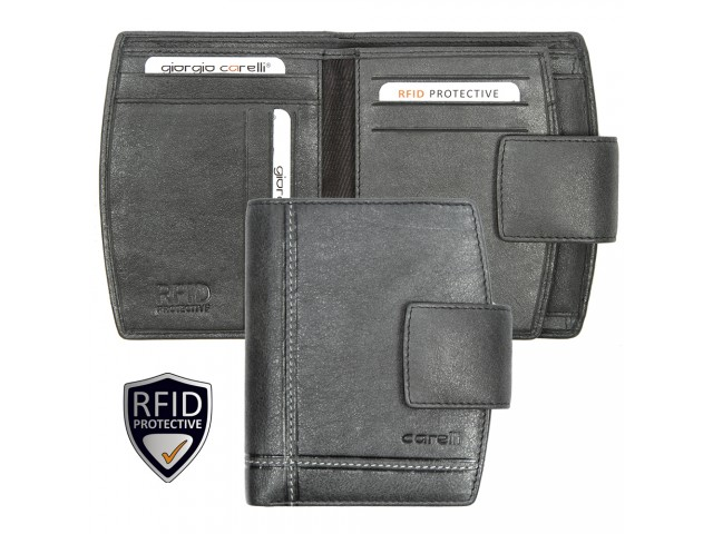wallet with safety closure