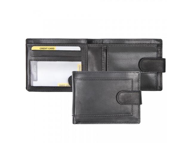billfold with zip pocket   closure