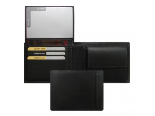 billfold with divided coin pocket